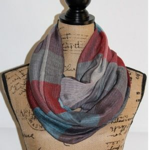 Accessories - Turquoise Blended Infinity Scarf